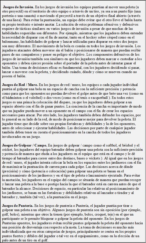 Planificación y Programación del Entrenamiento en Juegos Deportivos ...