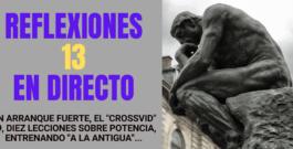 Reflexiones N° 13. ¡En Vivo! Invitado: Sebastián Carbone. Arranque Fuerte, «Crossvid 19», Lecciones Sobre Potencia, Entrenando a la «Antigua».